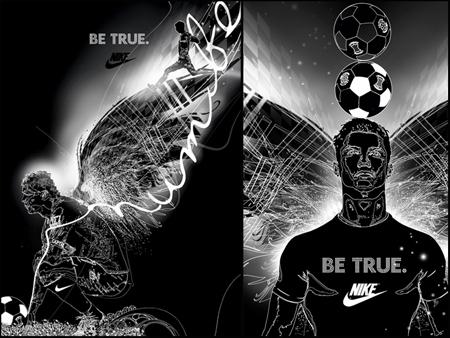 Nike et l'archetype du hero