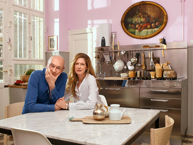 Piero Lissoni Und Barbara Hickl Im Salon Magazin Report