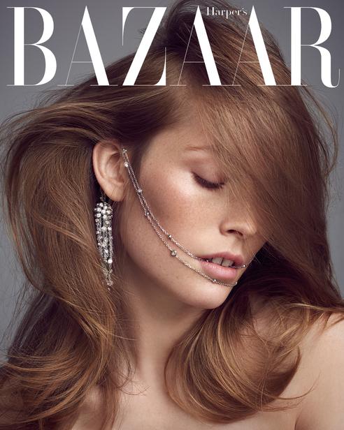 Cartier Trifft Dior Trifft Model Carolin Lossberg In Einer