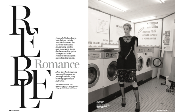 model sylwia ist 39 rebel romance 39 in der marie claire. Black Bedroom Furniture Sets. Home Design Ideas