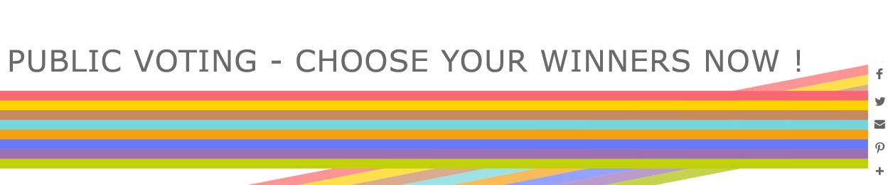 GOSEE AWARDS PUBLIC VOTING  - VOTE NOW !