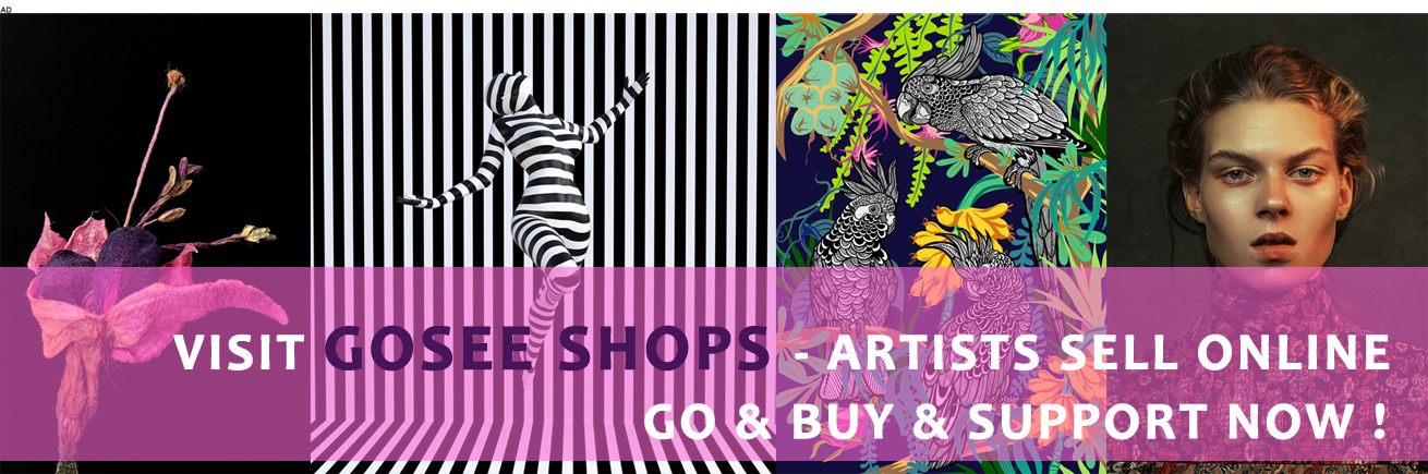 GOSEE SHOPS ONLINE -SUPPORT ARTISTS NOW !