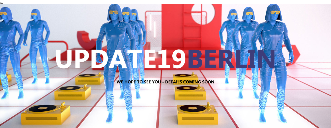 UPDATE 19 BERLIN - SAVE THE DATE: 15 NOV 2019 !