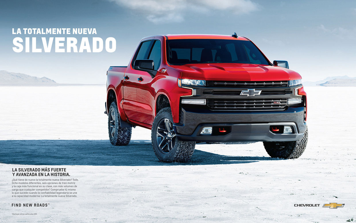 MIKE BROOKS : 2019 SILVERADO CAMPAIGN - Brand imagery for use across media