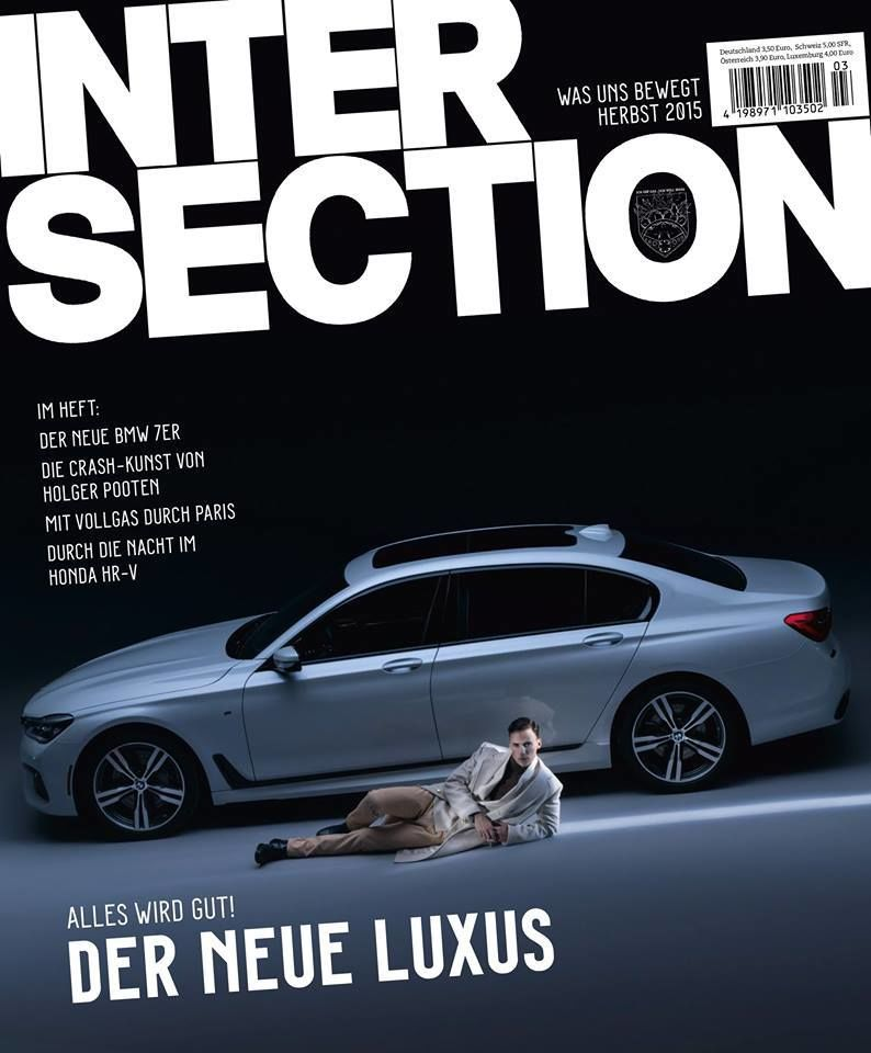 RGBERLIN: Amos Fricke – Cover und Editorial für Intersection