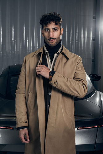 Daniel Ricciardo for Intersection France by Robert Wunsch