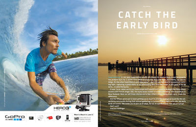 HELLIVENTURES 'Catch the early bird' MAGAZINE
