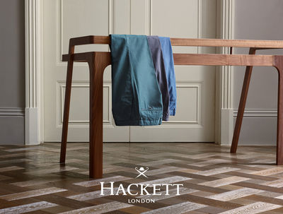 Gustav Almestal for Hackett