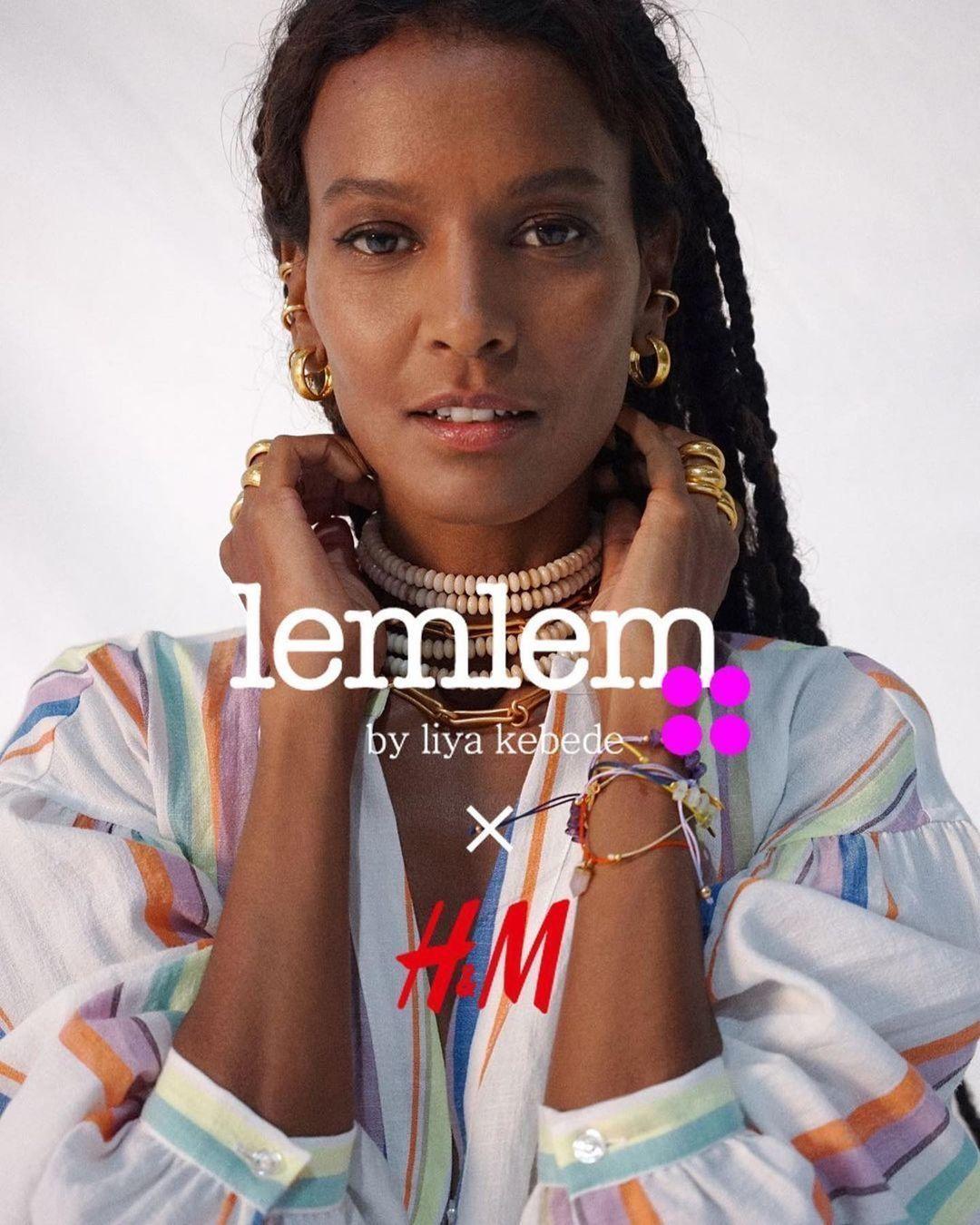 Liya Kebede for Lemlem x H&M