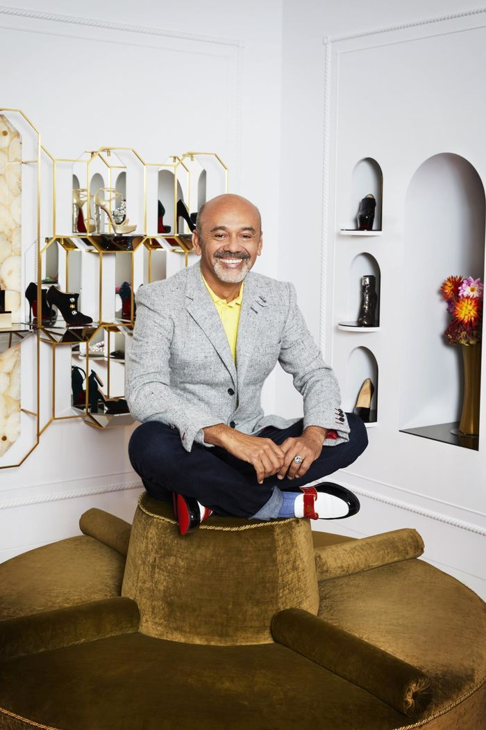 Christian Louboutin - President of the fashion accessories jury © Kate Martin