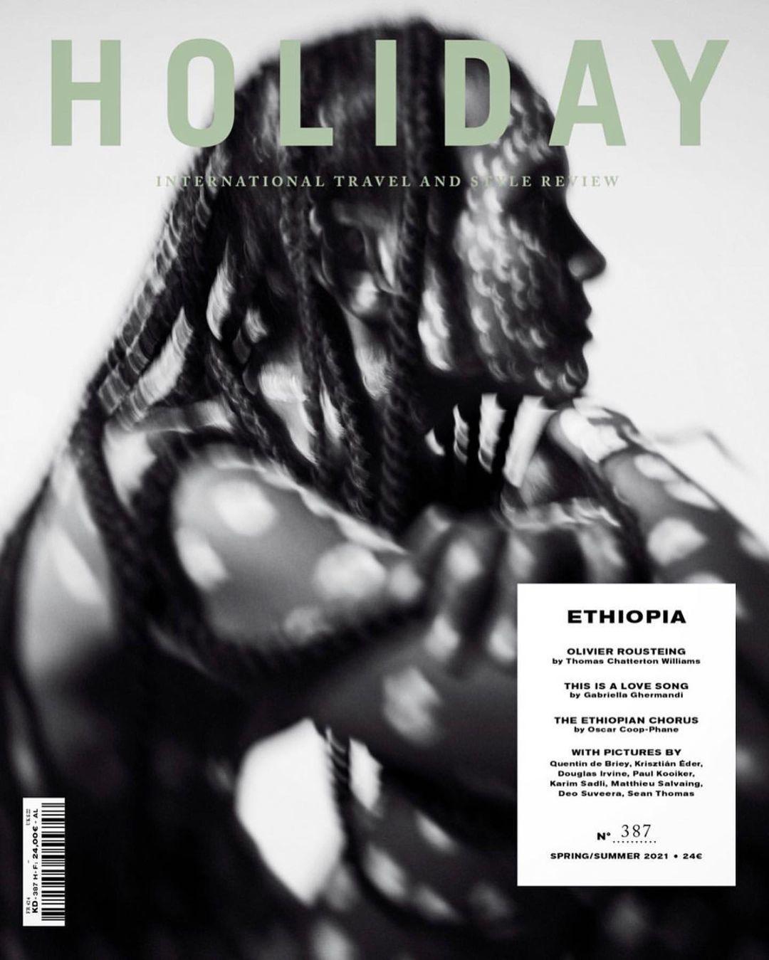 Liya Kebede for Holiday Magazine SS 2021 ICONIC