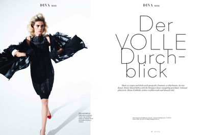 Brigitte Margareta Wilhelm for DIVA Magazin