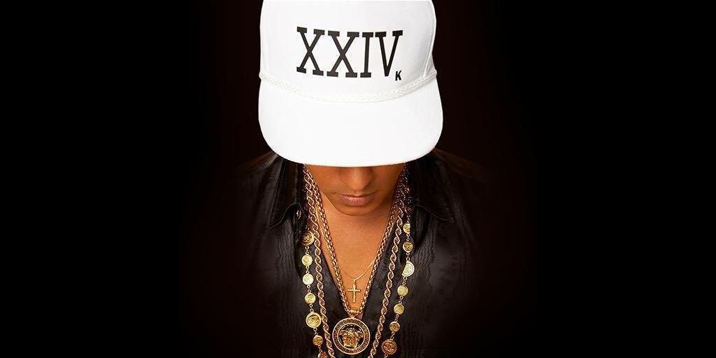 Bruno Mars Album Cover 24k Magic