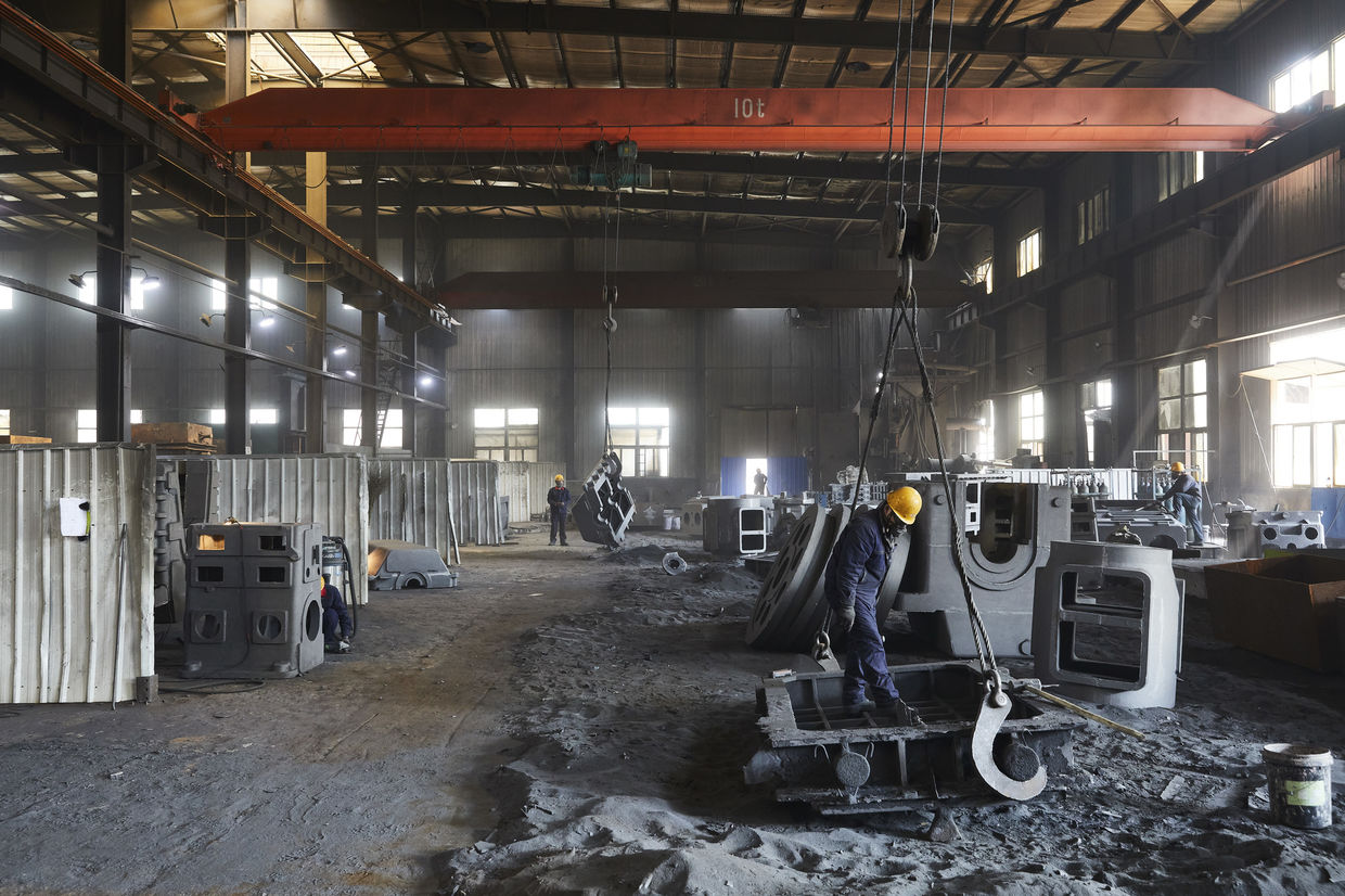 SCANDERBEG SAUER : Shenyang Yuanda Compressor Foundry (China) for Burckhardt Compression
