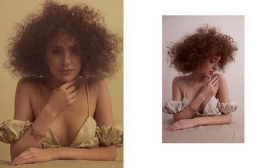 Beauty & Hair Special for VOGUE UKRAINE by RAMONA REUTER