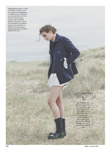 BLOSSOM MANAGEMENT: Tony Lundström (Hair & Make-up) for Elle Germany