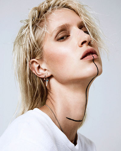 Hauke Krause HAIR & Isabel Eiler MAKE UP for Eveline Rosing