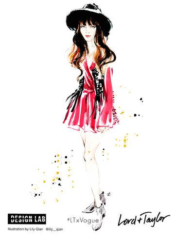 Lily Qian für Lord & Taylor x VOGUE