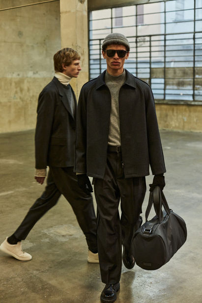 Berlin Based Philip Adomako for Z Zegna Fall 2021 ICONIC