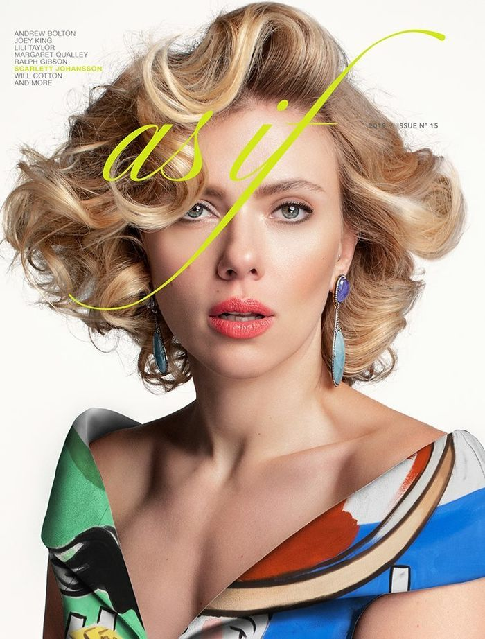Scarlett Johansson for AS IF Magazine