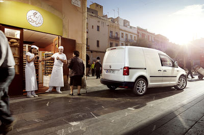 MANU AGAH for VOLKSWAGEN CADDY