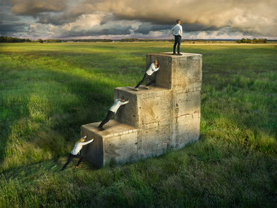 'Work together' by ERIK JOHANSSON c/o AGENT MOLLY & CO