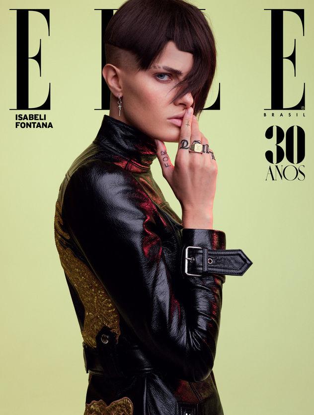 Isabeli Fontana for ELLE Brasil shot by Nicole Heiniger