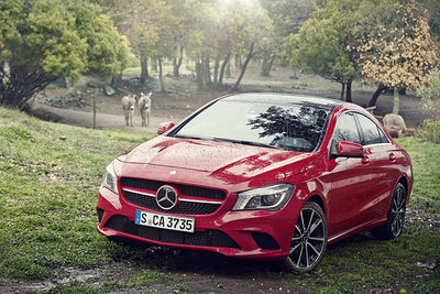 NERGER M&O : Heiko RICHARD - Mercedes-Benz CLA for INTERSECTION MAGAZINE
