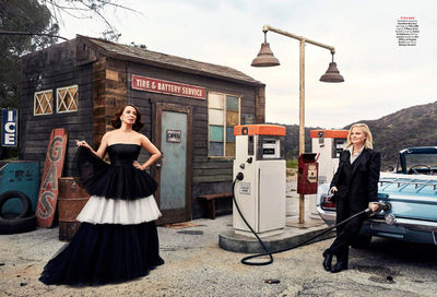 Amy Poehler & Maya Rudolph for Vanity Fair by ART STREIBER c/o GIANT ARTISTS