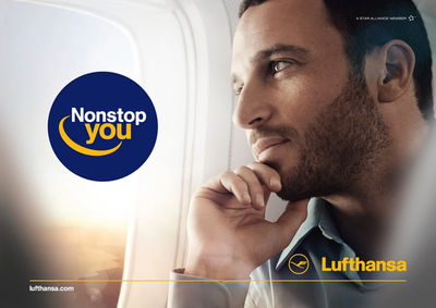K STIEGEMEYER : Claudia SCHOLTAN for LUFTHANSA
