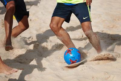 GIAN PAUL LOZZA für Fifa: Beachsoccer Weltmeister-Team Brasilien