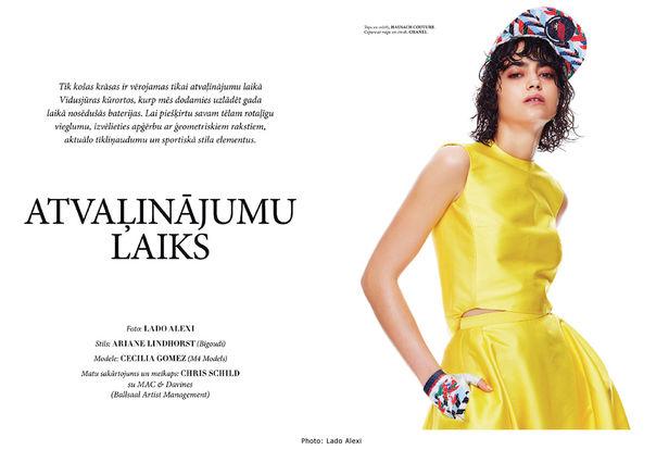 BIGOUDI - Ariane Lindhorst for L'Officiel Latvia