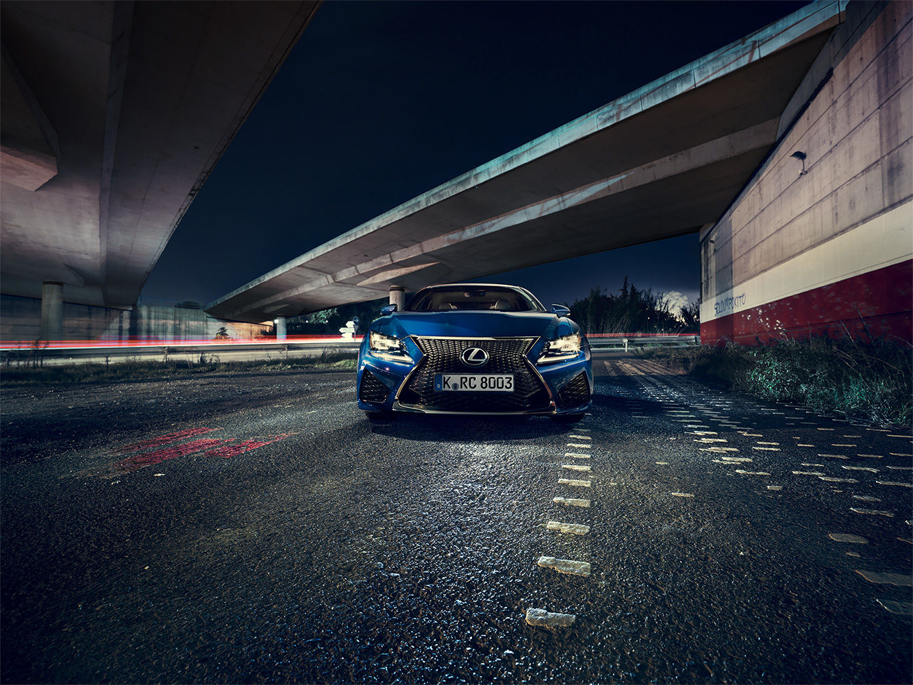 ANKE LUCKMANN for GQ GERMANY LEXUS RCF