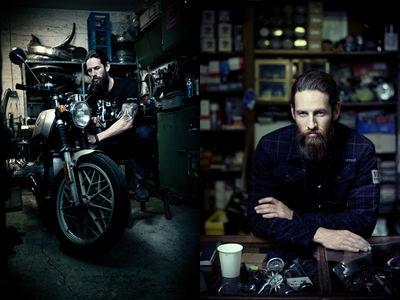 SEVERIN WENDELER: Daniel Cramer : BMW Motorrad Style & Ride