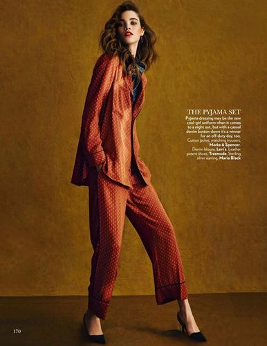 MUNICH MODELS: Pauline HOARAU for VOGUE India