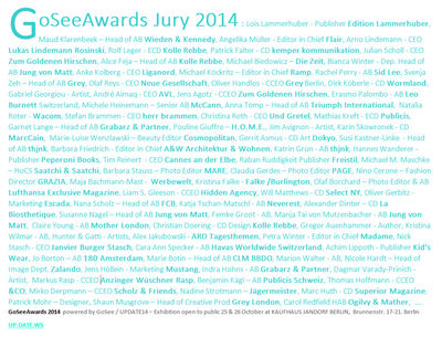 GoSee AWARDS 2014
