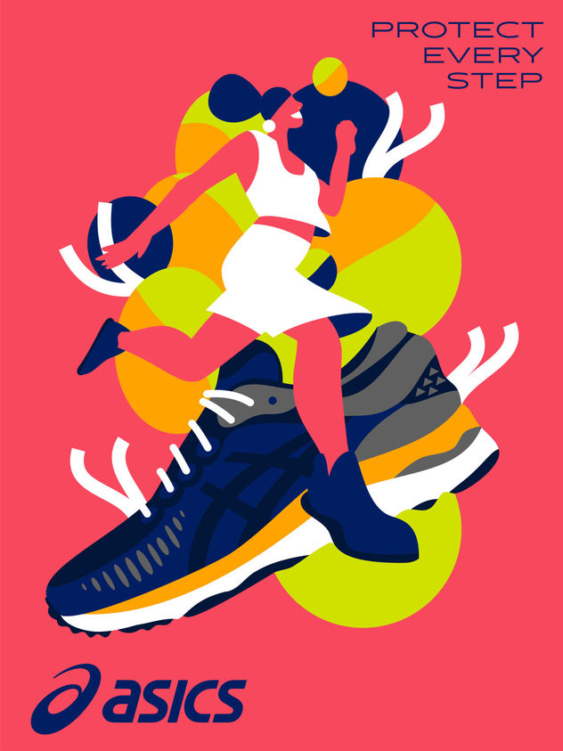 Asics 'Find your perfect shoe' by Kaja Merle c/o MAKING PICTURES