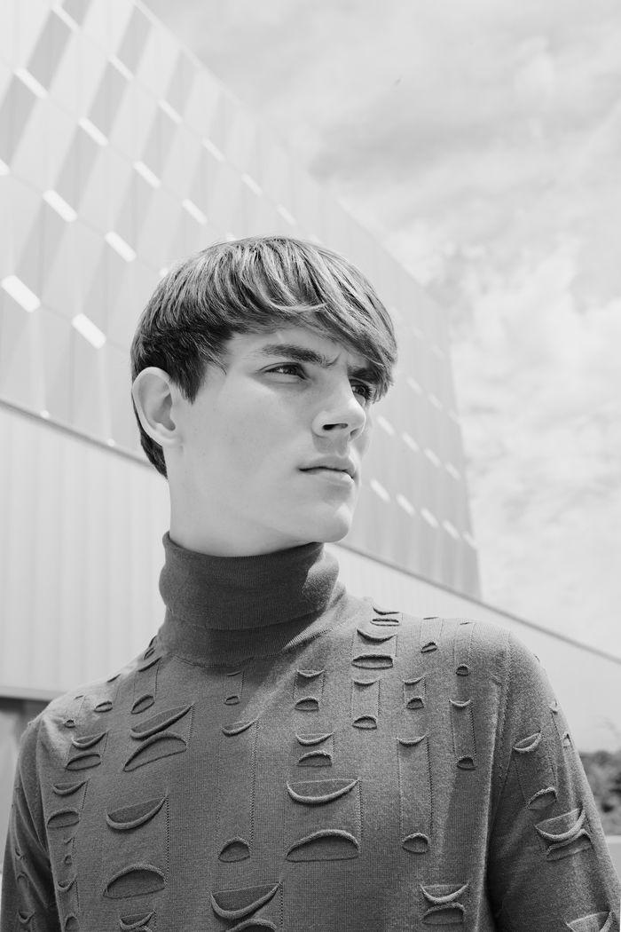 VIVA MODELS: Callum Ward for Leica S Magazine