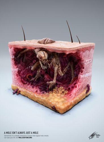 "ANALOG/DIGITAL : Zombie studio for Mollies Fund - ""A mole isn't always just a mole"""