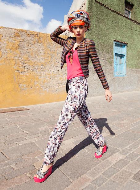 BLOSSOM MANAGEMENT: Jennifer KNOPF for ZALANDO MAGAZINE