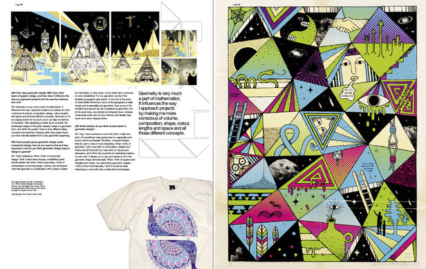 IDN MAGAZINE : Feature - Shaping up to geometric design