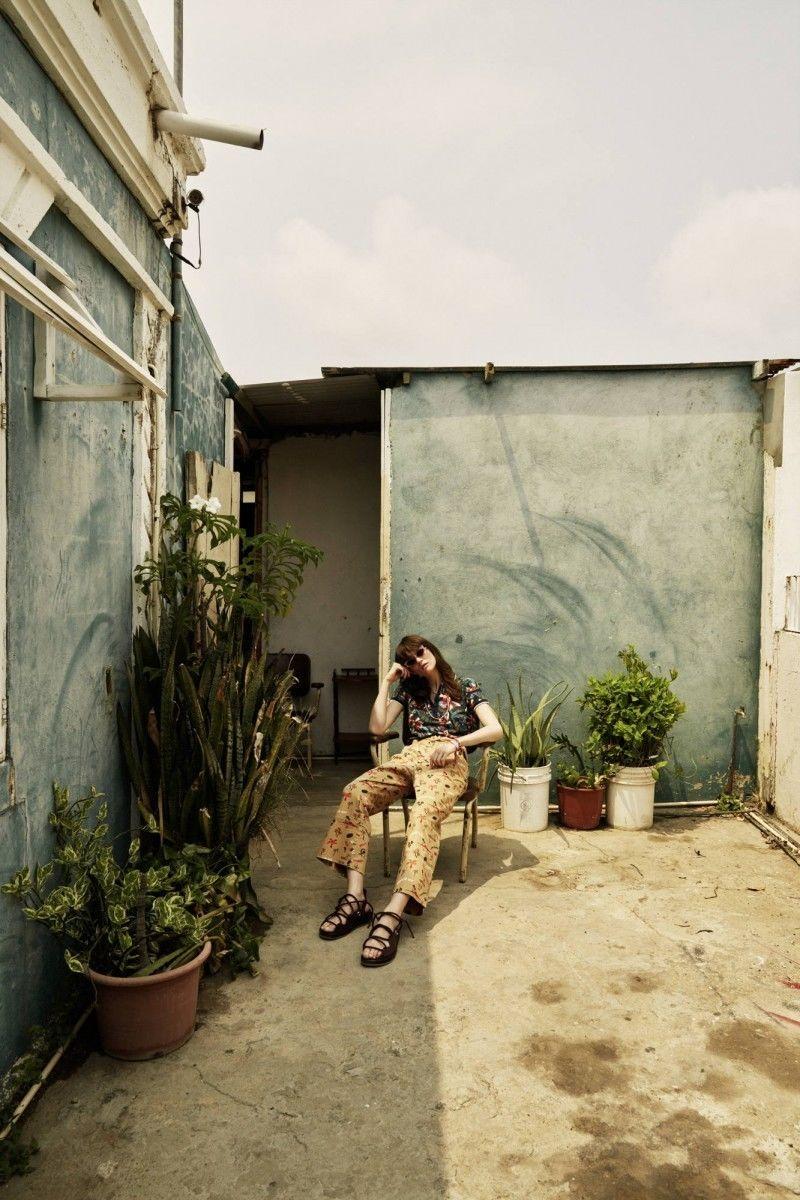 BIRGIT STÖVER ARTISTS: TINA LUTHER for GRAZIA MAGAZINE