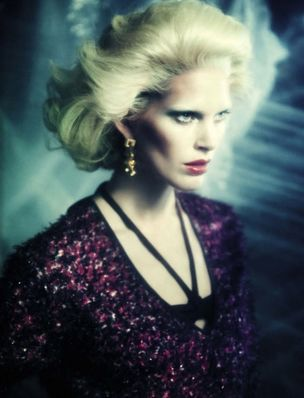LOUISA MODELS : Iselin STEIRO for VOGUE ITALIA