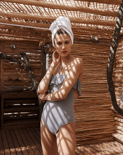 """Shana Mouton in """"Au Sud"""" by Stephan Glathe for FACTICE Magazine"""