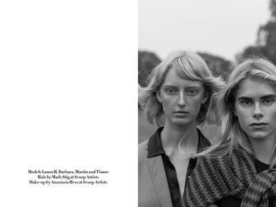 """BARBARA EGHOLM in """"THE JOURNEY"""" Scoop Stories by Marco van Rijt"""