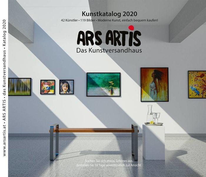 Cover Design for the ARS ARTIS Art-Catalog • RALF KUNSTMANN