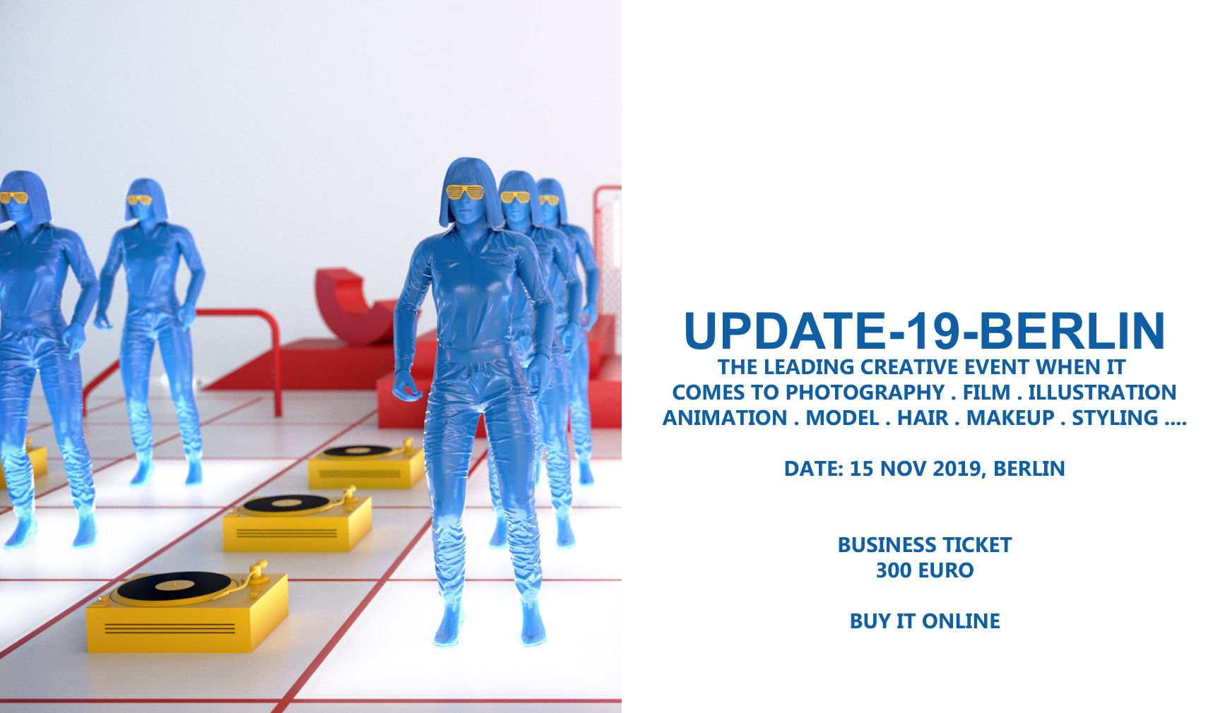 UPDATE 19 BERLIN - We hope to see you in Berlin !