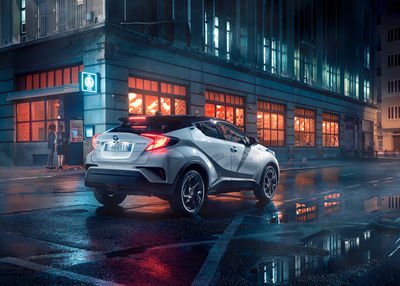 MARKUS WENDLER - International Toyota CHR Hybrid Campaign