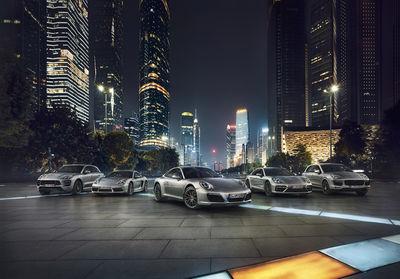 Porsche Range by Stephan Romer