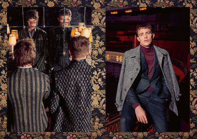 SAVILE ROW by CG-CLUB OF GENTS, Creative Direction / Art Direction by JUDITH CAJIC